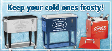 Keep your cold ones frosty!