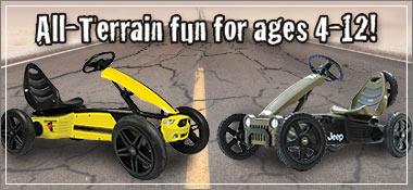 All-Terrain fun for ages 4-12!