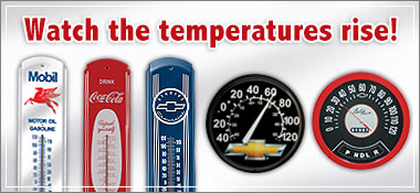 Watch the temperatures rise!
