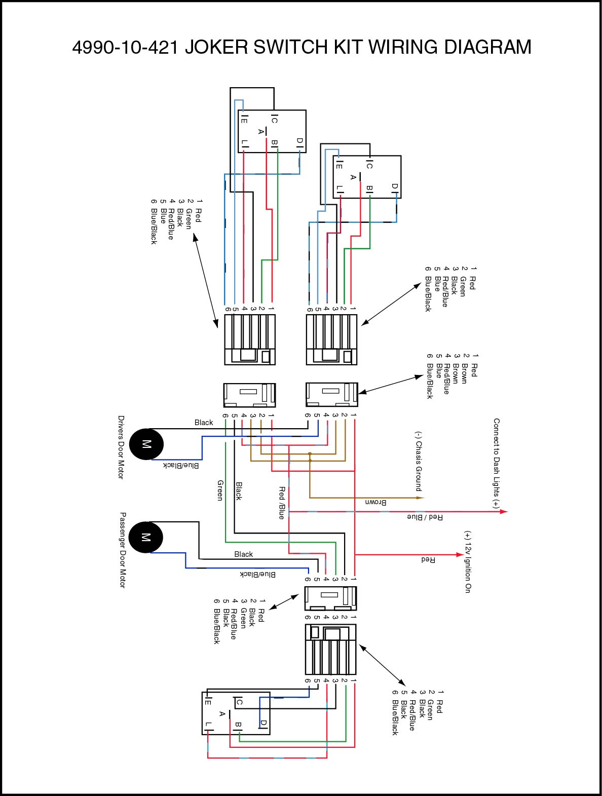 Kenworth Moto Mirror Wiring Diagram On 1982 Chevy Truck Wiring Diagram