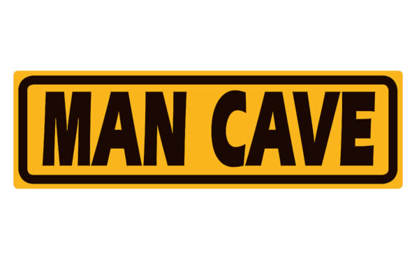 Man Cave Signs Images : Make a statement with an ande rooney man cave sign from