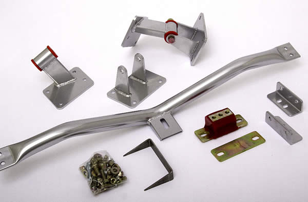 Hedman Ls Swap Kits And Headers For 1955 57 Chevy Now