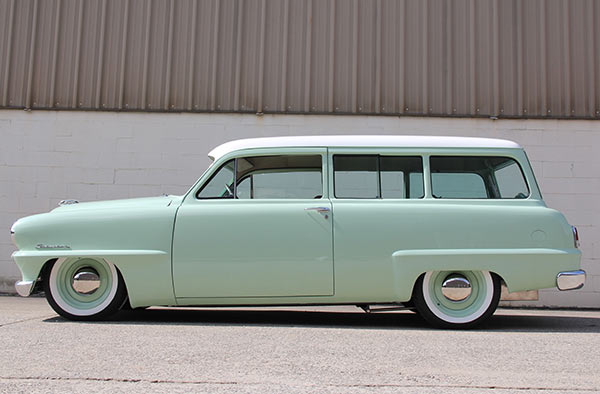 Rutledge Wood 1953 Plymouth Suburban Parts Combos Now