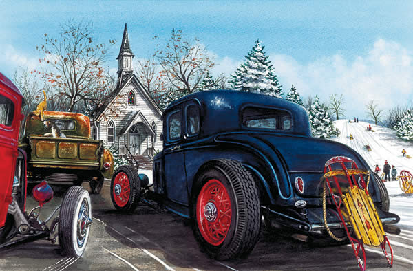 Hot Rod Christmas Cards Now Available from Genuine Hotrod Hardware ...