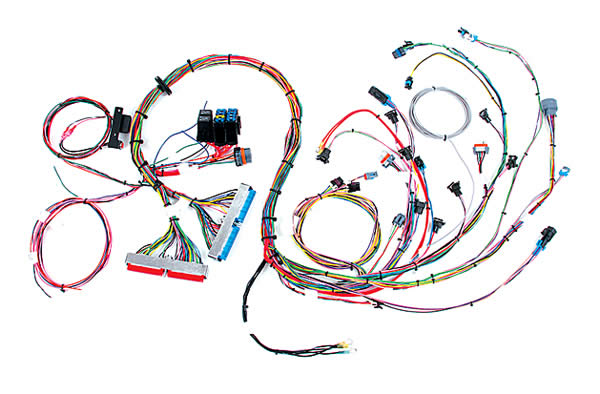 Ls1 Wiring Harness Mustang : Summit racing efi wiring harness for gm ls now available