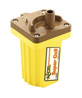 Accel 140034-8 Coil Pack Coil-On-Plug Super Coil Yellow Ford  4-valve Set of 8
