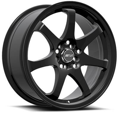 Msr Style 013 Matte Black Wheels 0138 7746