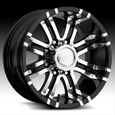 Eagle Alloys 197 Series Super Finish Black Wheel 18x9 8x170mm