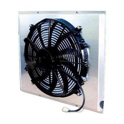 AFCO Racing Electric Fan and Aluminum Shroud Kit 80406FAN