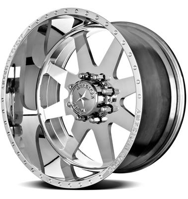 American Force Independence Ss8 Series Polished Wheels