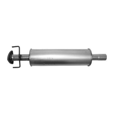 "16 Overall Length AUTOSAVER88 Stainless Steel High Performance Race Welded 3 Exhaust Muffler for Truck Universal Muffler 3/"" Inlet /& 3/"" Outlet"
