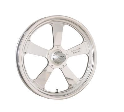 "American Racing Wheel Trakstar Aluminum Polished 15""x3 5"" Strange Spindle Mount"