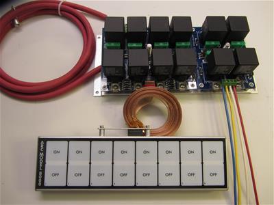 arcauto rod controls 8000r arc flat touch switch panels  summit racing