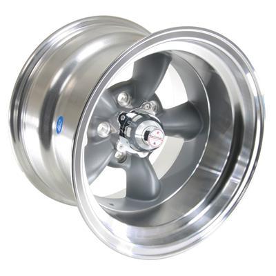 American Racing Torq Thrust D Gray Wheel 15x10 5x4.5 BC Set of 4