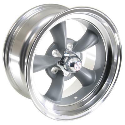 "American Racing Torq Thrust D Gray Wheel 16""x8"" 5x4 5"" Set of 4"