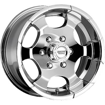 American Racing Ar617 Chrome Diamond Back Wheels 6177882pt