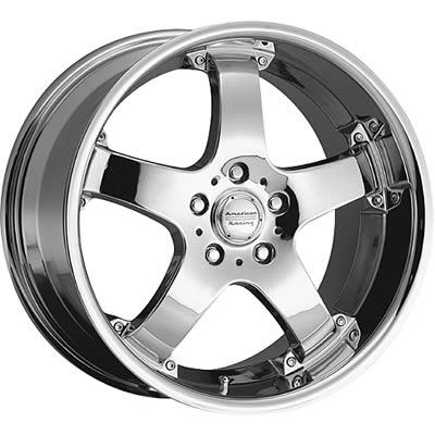 American Racing Ar699 Chrome Rebel Wheels 6998163
