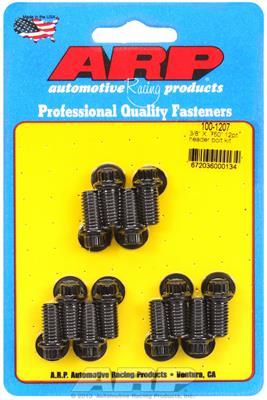 "Black  5//16/"" Wrench ARP 100-1207 Chromoly Header Bolt Kits 0.750/"" U.H.L"