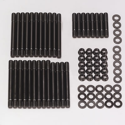 For Select Chevrolet Big Block Applications ARP 2354201 Pro Series Cylinder Head Studs With 12-Point Style Nuts