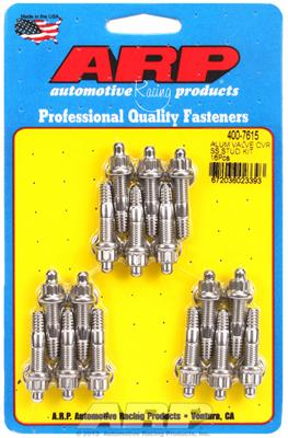 ARP 400-7615 12-Point Stainless Steel Valve Cover Stud Kit 16 Piece
