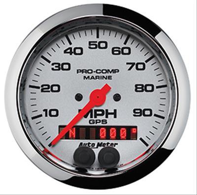 AutoMeter Pro-Comp Marine GPS Speedometers 200636-35