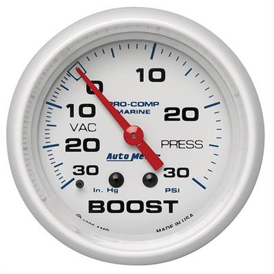 Auto Meter 5803 Mechanical Boost//Vacuum Gauge