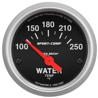 Auto Meter 3370 Sport-Comp 2-1//16 Wideband Air//Fuel Ratio Analog Gauge