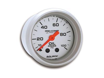 Auto Meter 4370 Ultra-Lite 2-1//16 Wideband Air//Fuel Ratio Analog Gauge