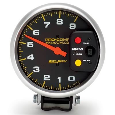 AutoMeter Pro-Comp Memory Tachometers - Free Shipping on Orders Over on pro comp oil cooler, pro comp tach wiring, pro comp fuel tank, pro comp fuel pump, pro comp rear suspension, mustang 5 0 msd diagram, pro comp cylinder head, pro comp lights, pro comp distributor, pro comp tires, pro comp ignition, pro comp wheels, pro comp parts list, pro comp shock absorber,