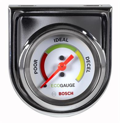 """Black Face Bosch FST8215 Style Line 2/"""" Electrical Voltmeter Gauge"""