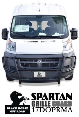 BLACK HORSE 17FOTRMA Black Spartan Grille Guard