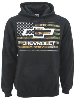 Chevrolet Mens Z28 Logo Pullover Hoodie