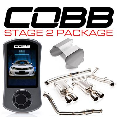 Cobb Tuning Subaru Stage 2 Power Packages 615x92