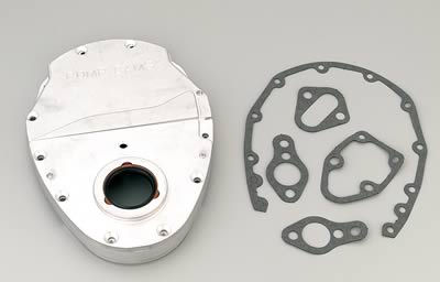 3 Piece COMP Cams 310 Billet Aluminum Timing Cover for Small Block Chevy