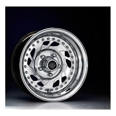Center Line Wheels Modular Series Warrior Polished Wheel 15x4 5x4 75