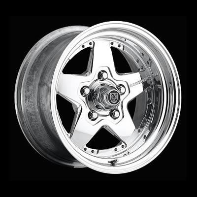 Center Line Wheels Competition Series Eliminator Polished Wheel 15x8