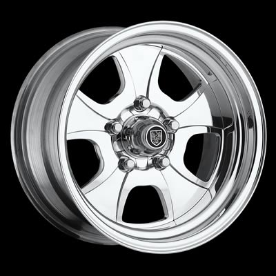 Center Line Wheels Competition Series Vintage Polished Wheel 15x7