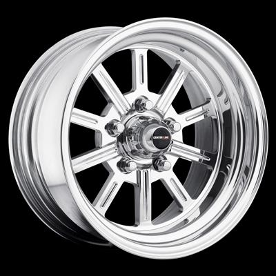 Center Line Wheel Competition Series Super Spoke Polished Wheel 749 5804550