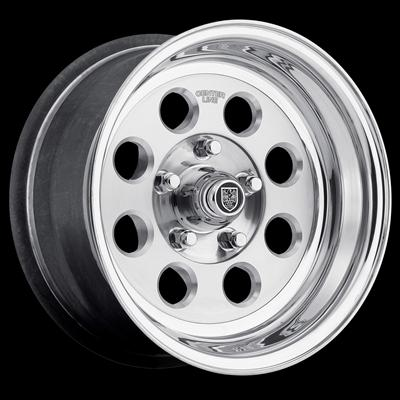 Center Line Wheels Dicer Series Street Hawk Polished Wheel 7655401547