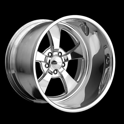 Center Line Wheels Legend Series Retro Polished Wheel 20x15 5x4 75