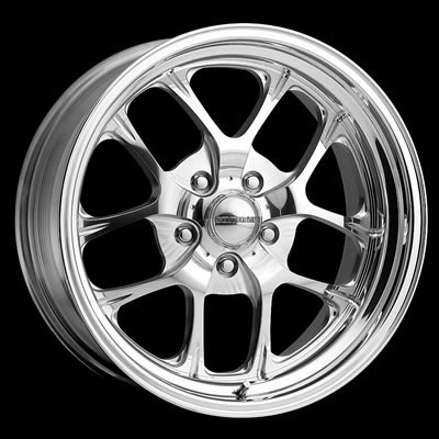 Center Line Wheels Legend Series Lazer II Polished Wheel 17x8 5x5