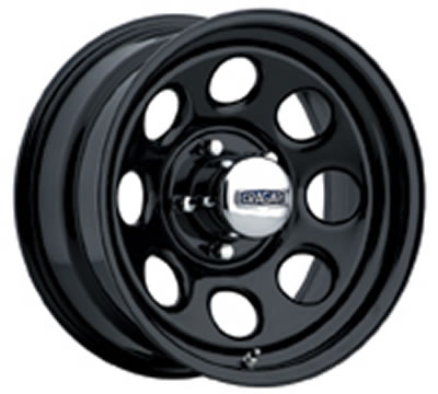 Cragar Soft 8 Black Wheels - Free Shipping on Orders Over ...