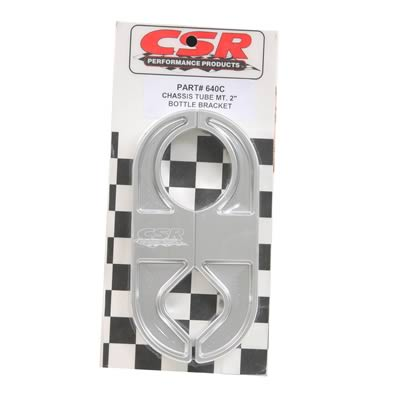 CSR Performance Products 640C Clear CO2 Bottle Bracket