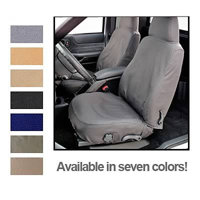 Covercraft SS3477PCGY Grey Polycotton Saver Custom Seat Covers
