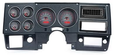 Dakota Digital VHX Series Direct-Fit Analog Gauge Systems VHX-73C-PU-C-R
