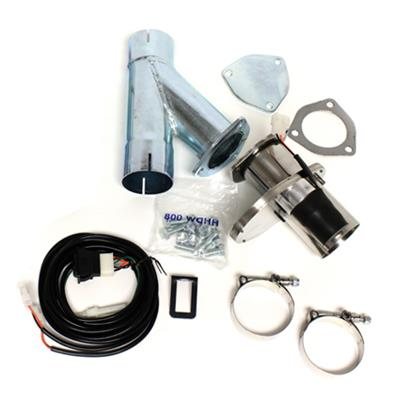 """Doug/'s Headers DEC300A-1 3/"""" Stainless Steel Electric Cut-Out Kit W//O Hardware"""