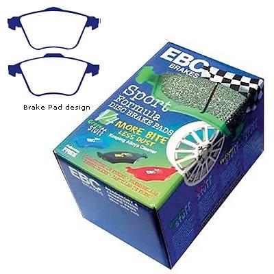 EBC Brakes DP21490 Greenstuff 2000 Series Sport Brake Pad