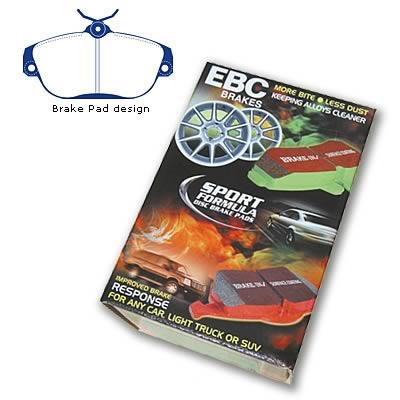 EBC Brakes DP31175C Redstuff Ceramic Low Dust Brake Pad