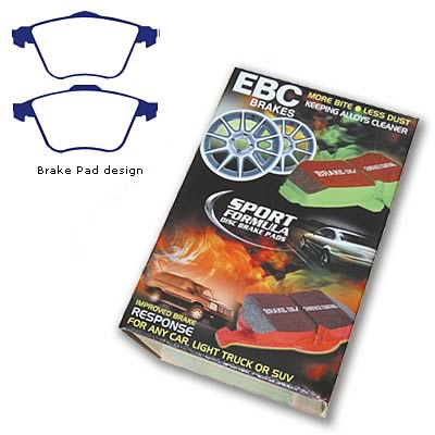 EBC Brakes DP31574C Redstuff Ceramic Low Dust Brake Pad