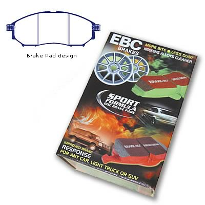 EBC Brakes DP31230C Redstuff Brake Pads